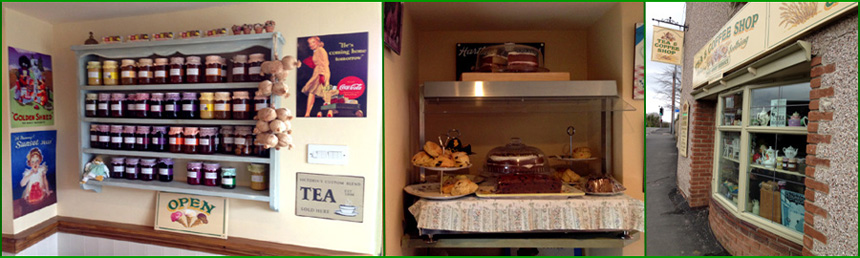 The Pantry in Swanwick, Derbyshire - Delicatessen, Tea Rooms and Restaurant